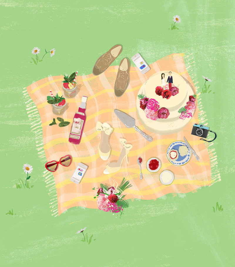 English Picnic Luci Everett