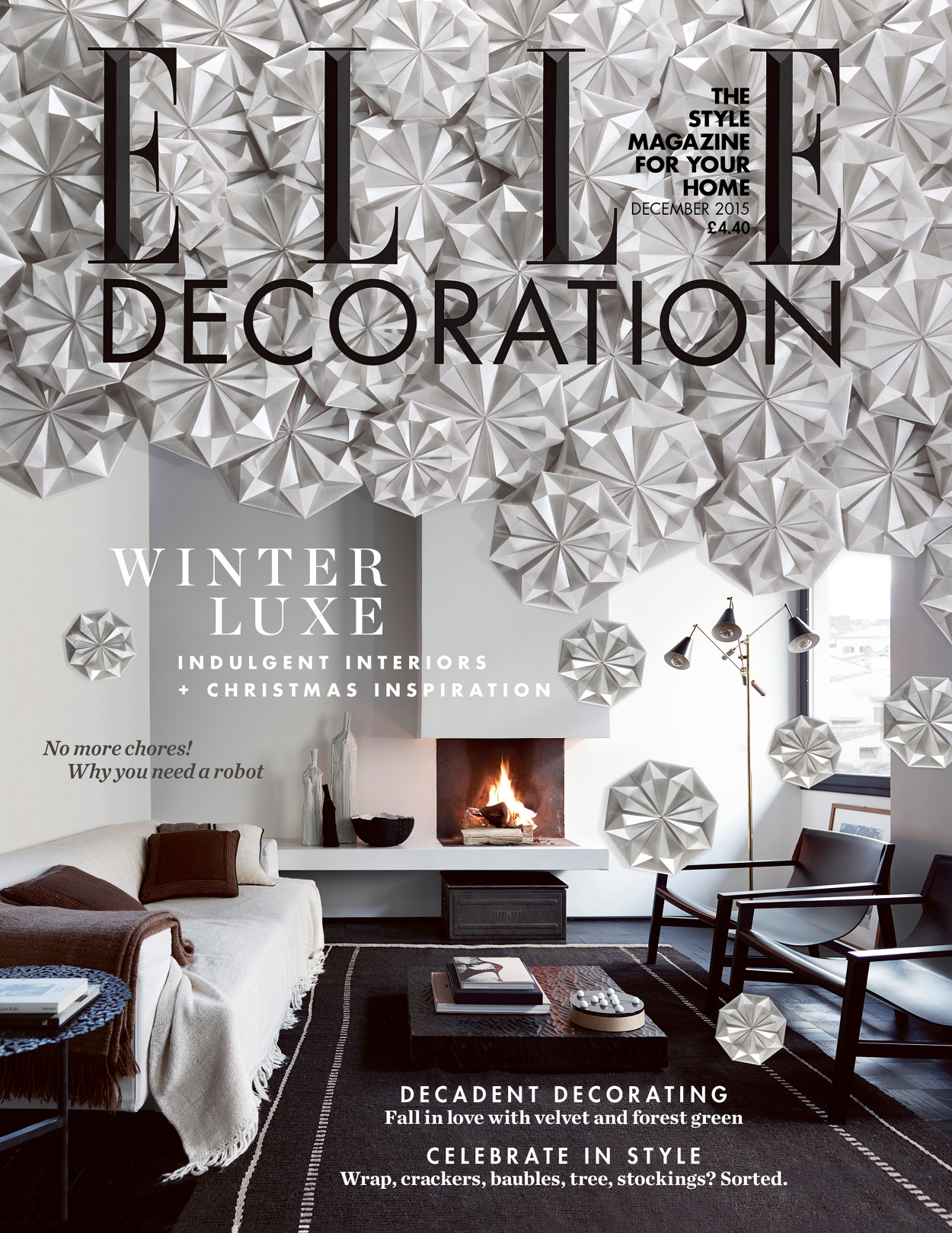 Elle Decoration Christmas Cover Nick Rochowski Photography