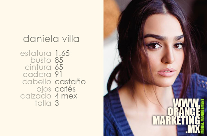 Daniela villa orange marketing for Daniela villa modelo